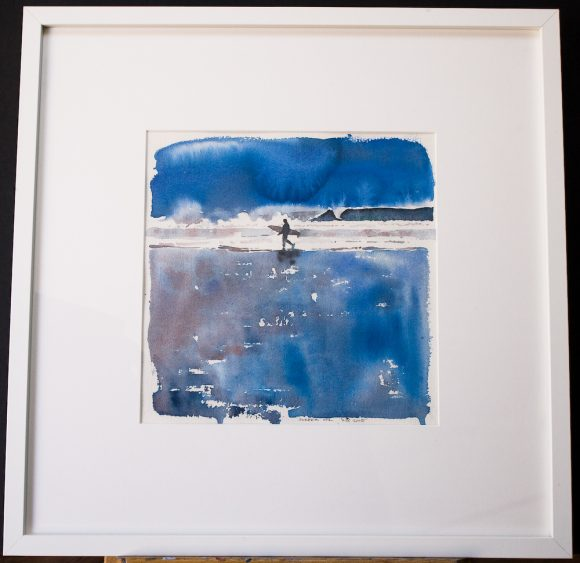 Surfer 2 in its gallery Frame