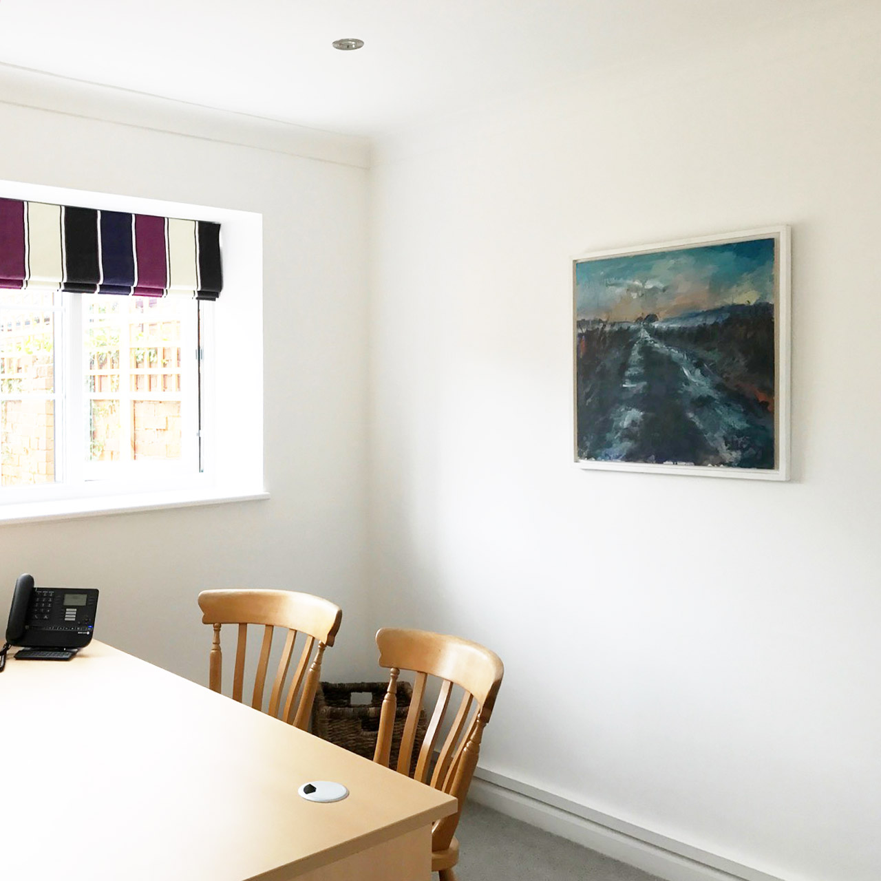 Watercolour Paintings by Nic Cowper, art for workspaces