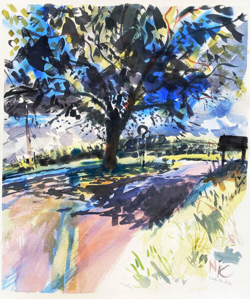 Tree-shade-junction