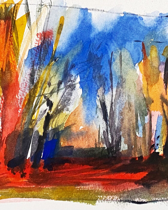 240 180 walk in woods red study