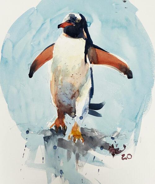 Half Sheet Penguin