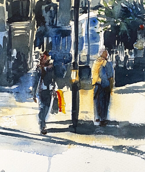 Out Shopping 195 x 180